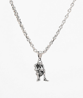 "Personal Fears Smokebreak 23"" Stainless Steel Chain Necklace"