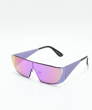 Phaze Purple Shield Sunglasses