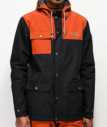 Picture Organic Jack Black & Orange 10K Snowboard Jacket
