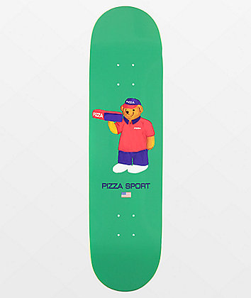 "Pizza Bear 8.25"" Skateboard Deck"