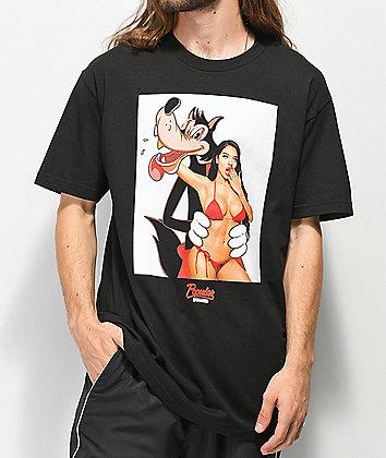 Popular Demand Bad Wolf Black T-Shirt