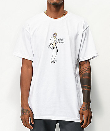 Porous Walker Karate White T-Shirt