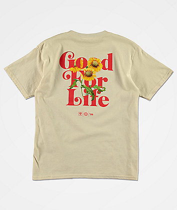 Primitive Boys Good Life Cream T-Shirt