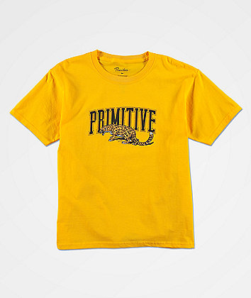 Primitive Boys Strike Team Gold T-Shirt