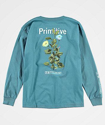 Primitive Boys Tulip Slate Blue Long Sleeve T-Shirt
