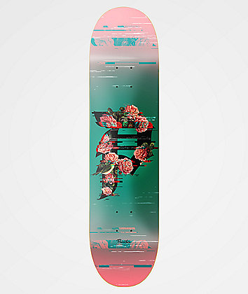 "Primitive Dirty P Glitch 8.0"" Skateboard Deck"
