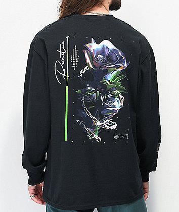 Primitive Everlasting Black Long Sleeve T-Shirt