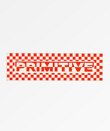 Primitive Finish Line Sticker