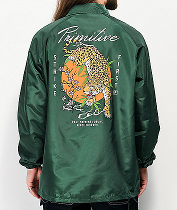 Primitive Ginza Green Coaches Jacket