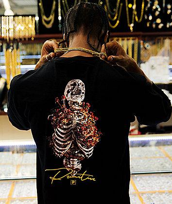 Primitive Gold Pack Rise Black T-Shirt