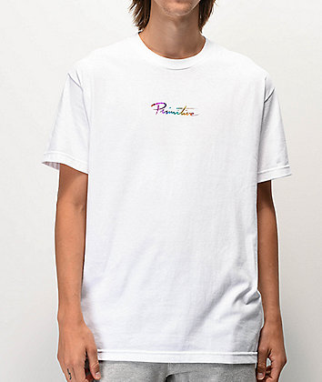 Primitive Nuevo Spectrum White T-Shirt