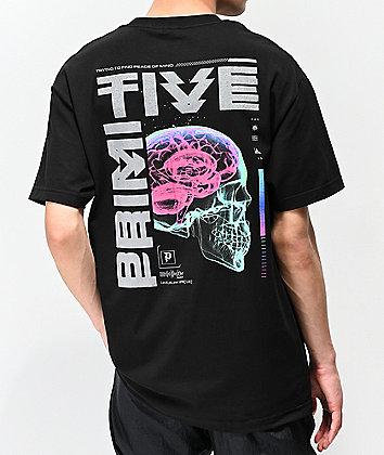 Primitive Peace Of Mind Black T-Shirt