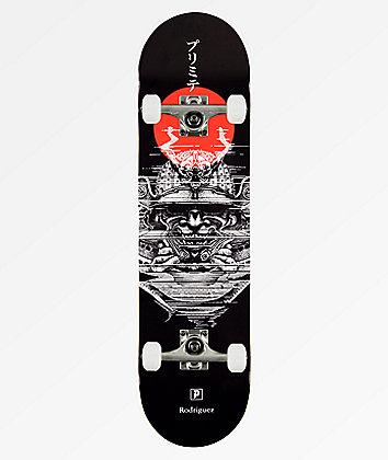 """Primitive Rodriguez Warrior 8.0"""" Skateboard Complete"""