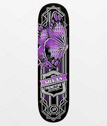 "Primitive Silvas Butterfly 8.25"" Skateboard Deck"