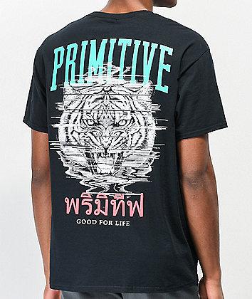 Primitive Tiger II Black T-Shirt