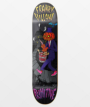 "Primitive Villani Pumpkin 8.38"" Skateboard Deck"