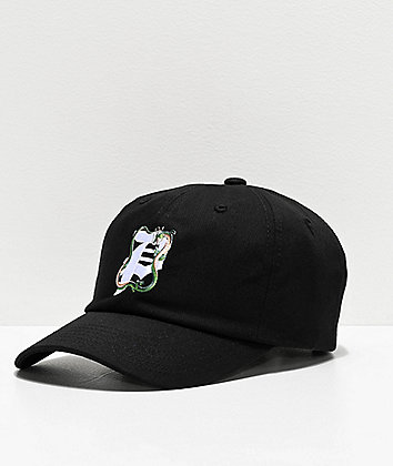 Primitive x Dragon Ball Z Dirty P Shenron Black Strapback Hat