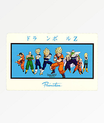 Primitive x Dragon Ball Z Heroes Sticker