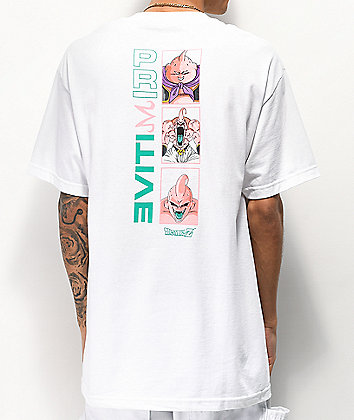 Primitive x Dragon Ball Z Mijin Forms White T-Shirt