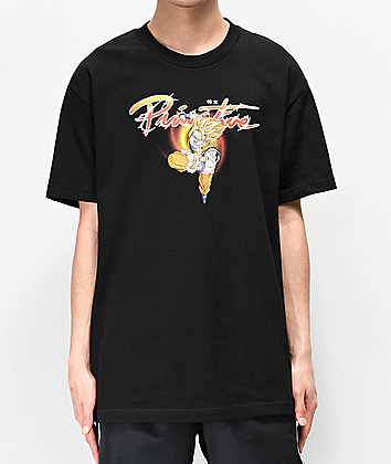 Primitive x Dragon Ball Z Nuevo Goku Black T-Shirt