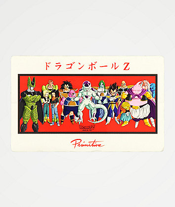 Primitive x Dragon Ball Z Villains Sticker