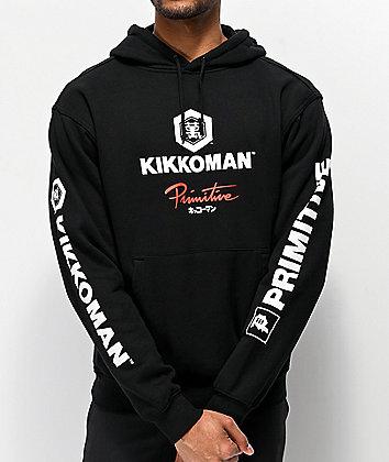 Primitive x Kikkoman Sauce Black Hoodie