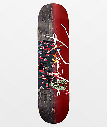 "Primitive x Naruto Akatsuki Clan 8.12"" Skateboard Deck"