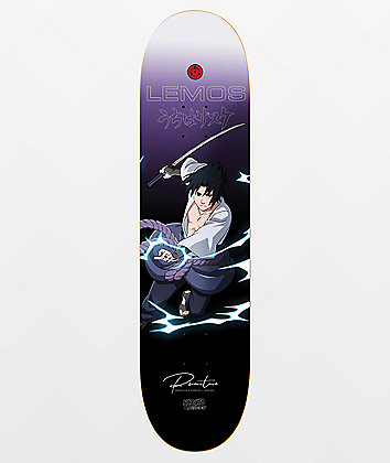 "Primitive x Naruto Lemos Sasuke 8.12"" Skateboard Deck"