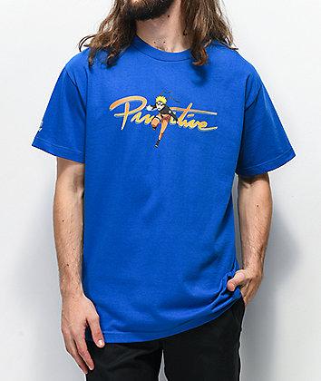Primitive x Naruto Nuevo Blue T-Shirt