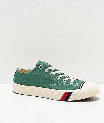 Pro-Keds Royal Low Deep Sea Green & White Shoes