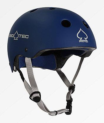 Pro-Tec Classic casco de skate azul mate
