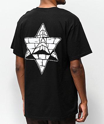 Pyramid Country Glogo Black Pocket T-Shirt