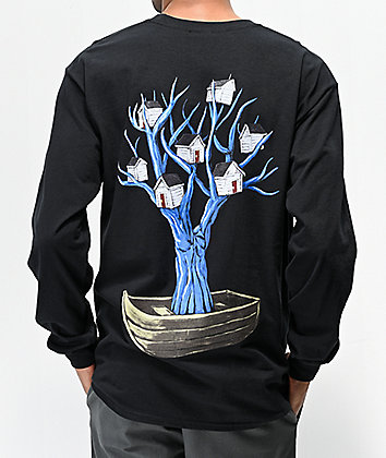 Pyramid Country Joseph's Ark Black Long Sleeve Pocket T-Shirt