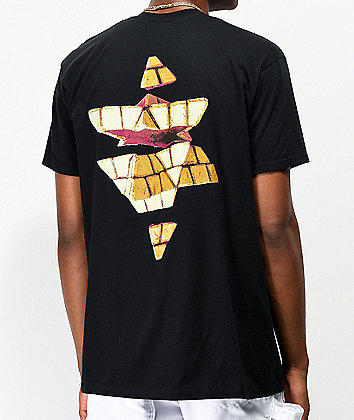 Pyramid Country Levels Black T-Shirt