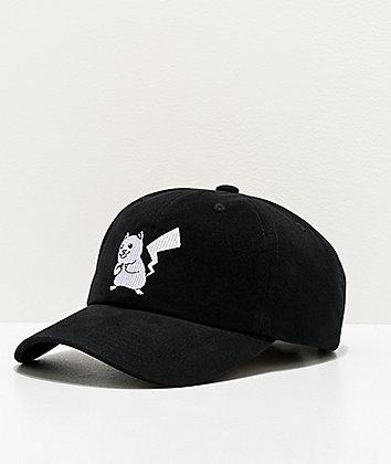 RIPNDIP Catch Em All Black Strapback Hat