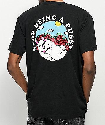 RIPNDIP Cuddle Black T-Shirt