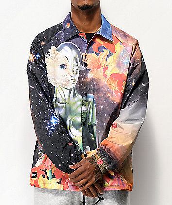 RIPNDIP Galactica Black Coaches Jacket