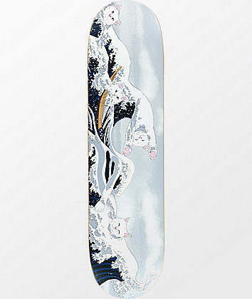 "RIPNDIP Great Wave Of Nerm 8.0"" Skateboard Deck"