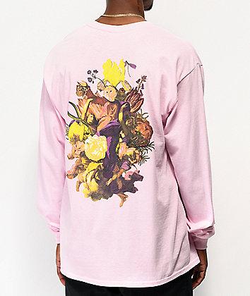 RIPNDIP Heavenly Bodies Pink Long Sleeve T-Shirt