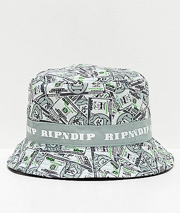 RIPNDIP Money Bag Reversible Bucket Hat