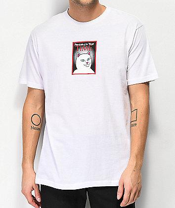 RIPNDIP Nerm Of The Year White T-Shirt