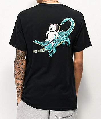 RIPNDIP Ranger Nerm Black Pocket T-Shirt