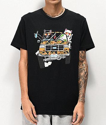 RIPNDIP The Whole Gang Black T-Shirt