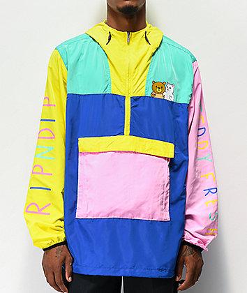 RIPNDIP x Teddy Fresh 2.0 Colorblock Anorak Jacket