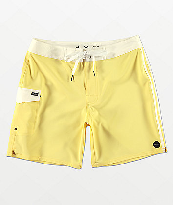RVCA Higgins Yellow Board Shorts