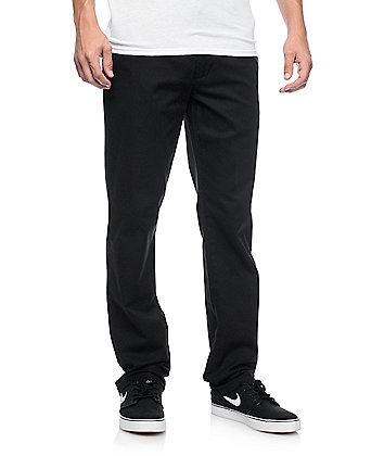RVCA Weekend Stretch Black Chino Pants