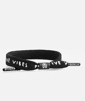 Rastaclat Positive Vibes Black & White Bracelet