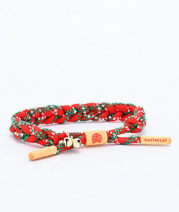 Rastaclat Tacky Sweater Red & Green Bracelet