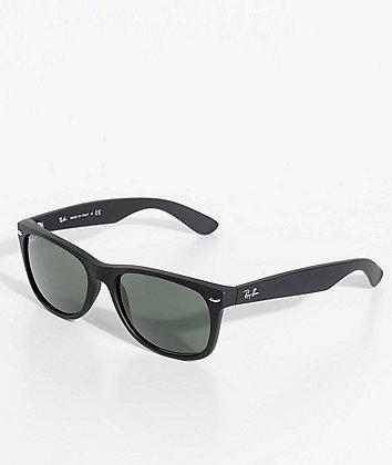 Ray-Ban New Wayfarer Classic Matte Black Sunglasses
