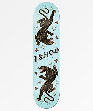 "Real Ishod Panther 8.25"" Skateboard Deck"